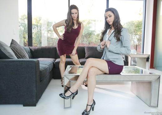 Georgia Jones, Cassidy Klein - Anal Play - Lesbian HD Gallery