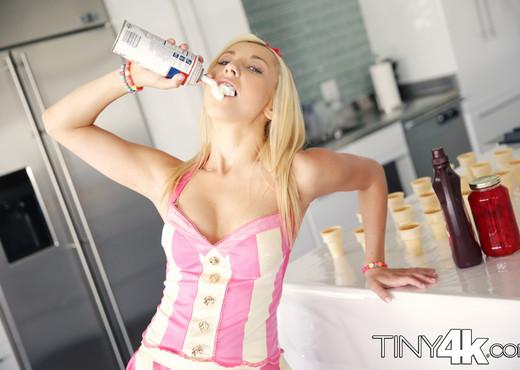 Jade Amber - Ice Cream Teen - Tiny 4K - Hardcore Sexy Gallery