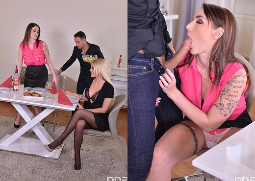 The Seductress - Best Friends Anal Threesome - Hardcore Image Gallery