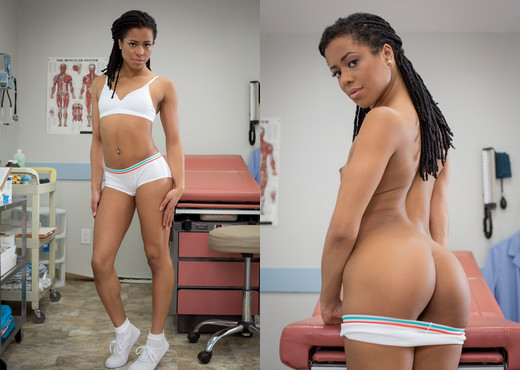 Kira Noir - The Professor - Ebony Picture Gallery