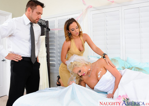 Jada Stevens & Phoenix Marie - Naughty Weddings - Hardcore Image Gallery
