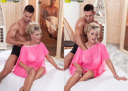 Newcomer Lana Vegas gets DP'd - 40 Something Mag - MILF Image Gallery