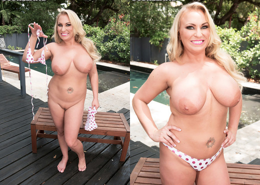 Chrissy Monroe - Blonde & Busty In Kentucky - ScoreLand - Boobs Nude Pics