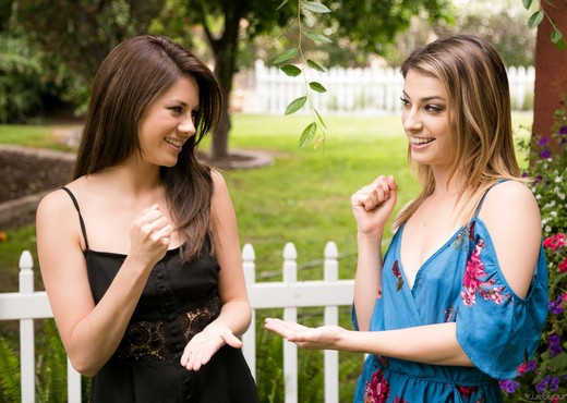 Shyla Jennings, Kristen Scott - The Rivalry - Lesbian HD Gallery