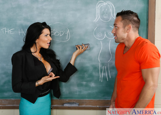 Romi Rain - My First Sex Teacher - Hardcore Picture Gallery