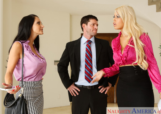 Ava Addams & Bridgette B. - Naughty Office - Hardcore Nude Pics