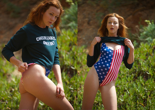 Elen Moore - Stars And Stripes - BreathTakers - Solo Hot Gallery