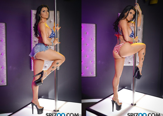Romi Rain Birthday Stripper - Spizoo - Hardcore Image Gallery