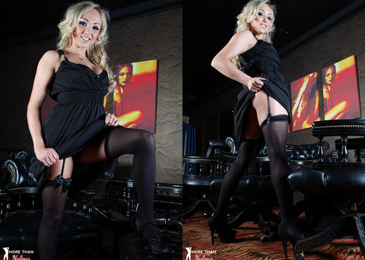 Danni King - Stocking Seduction! - More Than Nylons - Solo Image Gallery
