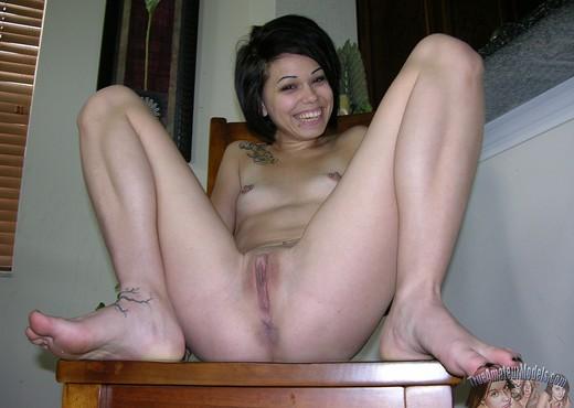 Naked at massage parlor hidden video