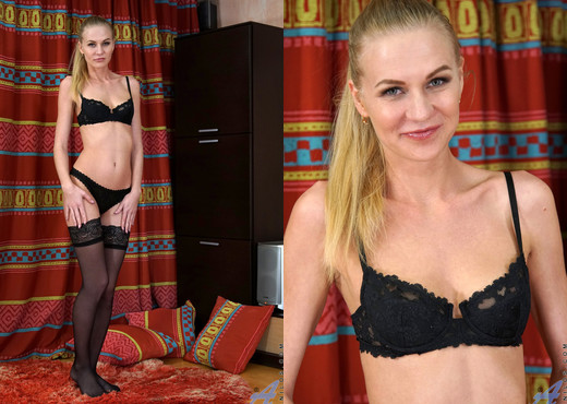 Tatiana - Milf Teases Pussy - Anilos - MILF Hot Gallery
