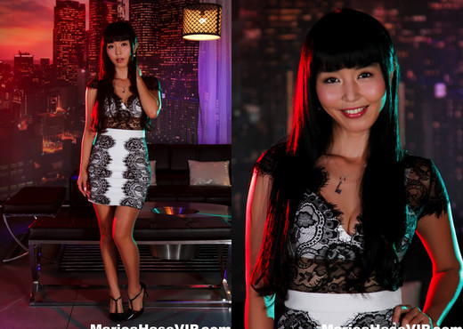 Sexy Marica in the night club - Marica Hase - Asian Hot Gallery