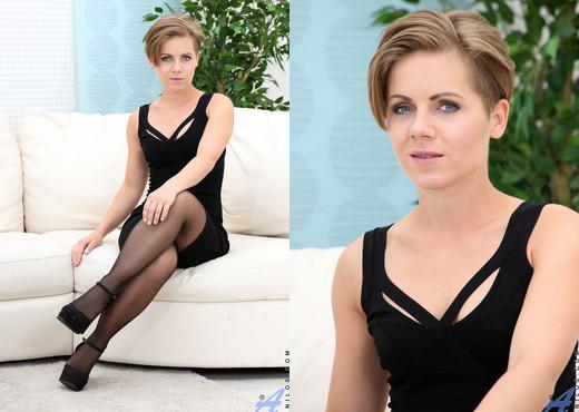 Sasha Zima - Little Black Dress - Anilos - MILF Picture Gallery