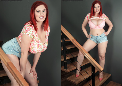 Alexsis Faye - The Redhead-Next-Door With A Rack - Boobs Sexy Photo Gallery