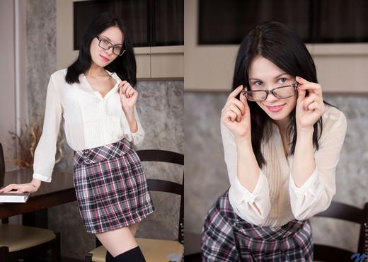 Alla B - School Girl Looks - Nubiles - Teen Image Gallery