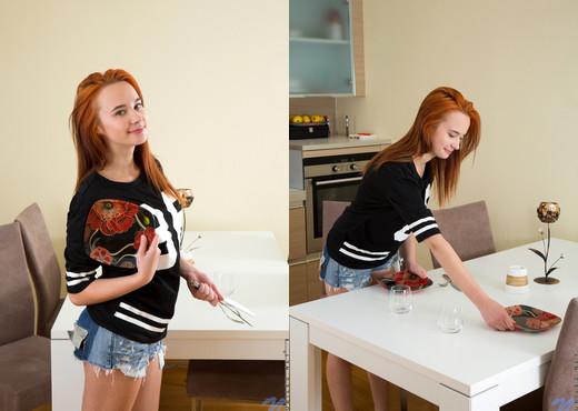 Caroline Crimson - Firey Redhead - Nubiles - Teen Picture Gallery