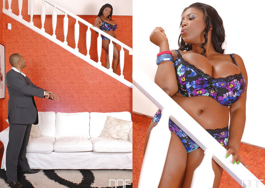 Maserati - Boobalicious newcomer boffed! - Ebony Sexy Photo Gallery