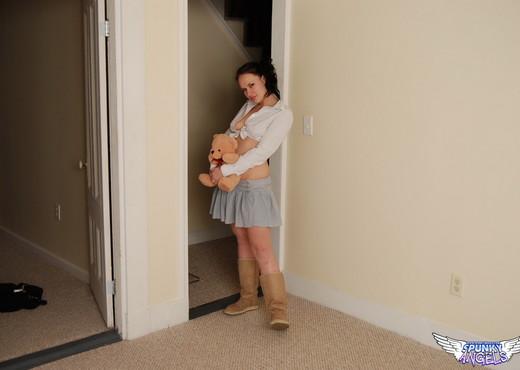 Emily Love - My Teddy Bear - SpunkyAngels - Solo Nude Pics