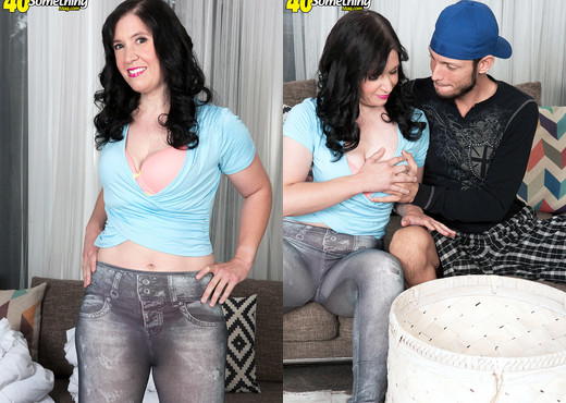 Gia Francesca - First time for a MILF with a hairy snatch! - MILF Picture Gallery