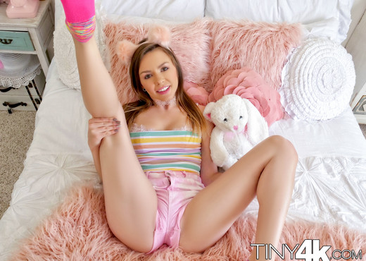 Alex Blake - Poking The Teddy - Tiny 4K - Hardcore Nude Gallery
