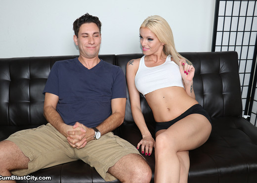 Bella Ink Gets Her Face Cummed On - Cum Blast City - Hardcore Porn Gallery