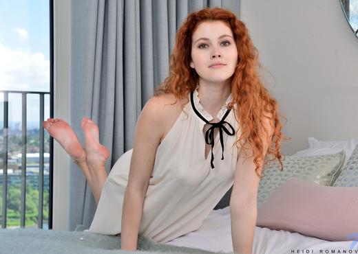 Heidi Romanova - Ginger Babe - Nubiles - Teen Nude Gallery
