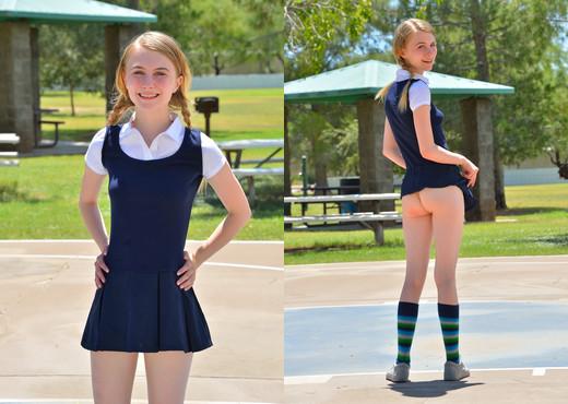 Sharlotte - Schoolgirl Style - FTV Girls - Solo Porn Gallery