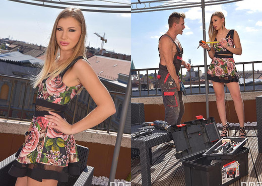 Haley Hill - Rooftop Blowjob - Blowjob Picture Gallery