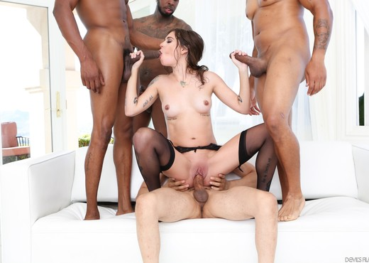 Kacie Castle - Blacked Out #08 - Devil's Film - Interracial Picture Gallery