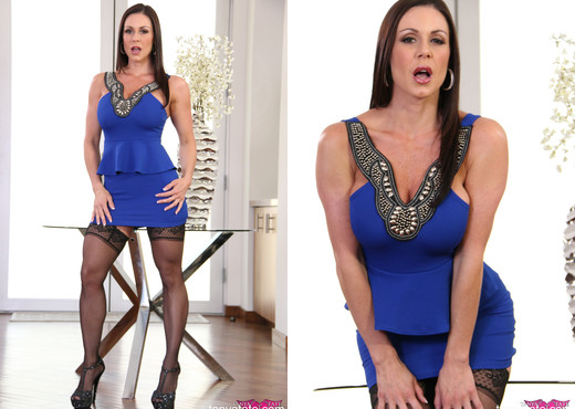 Brunette MILF Kendra Lust in Stockings - MILF Hot Gallery