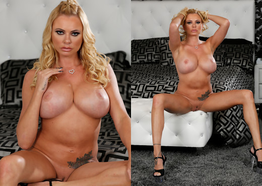 Briana Banks in Hot Bikini Strip - MILF Sexy Gallery
