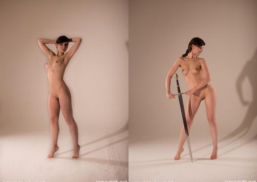 Jeny Smith art photo shoot - Solo Nude Pics