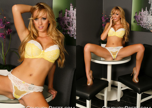 Brett Rossi spreads her perfect pussy - Solo Picture Gallery