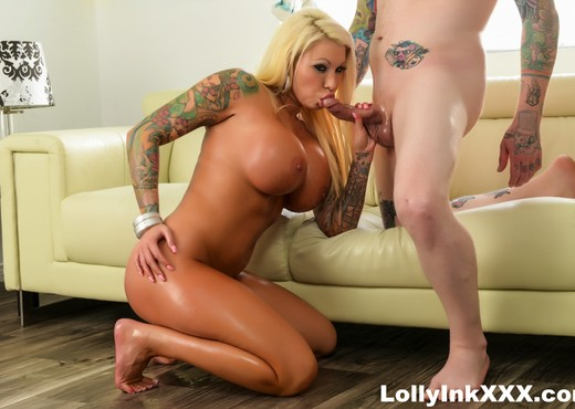 Hot tattoed MIlf Lolly gets some serious fucking! - Hardcore HD Gallery