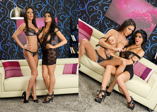 Romi Rain - Romi and Jessica Get Filthy - Lesbian Nude Pics