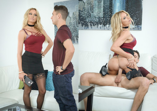 Briana Banks Makes A Fucking Deal With Brad Knight - MILF TGP