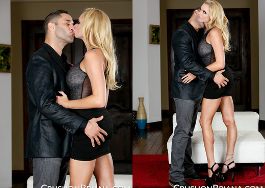 Briana Banks Gives Damon Dice A Deepthroat Workout - MILF Image Gallery