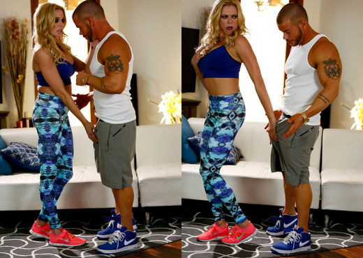 A Hard Cock Workout For Briana Banks - MILF Hot Gallery