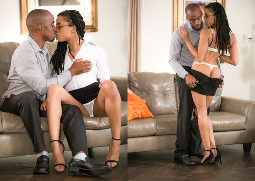 Kira Noir - Front Street Cheaters - Ebony Picture Gallery