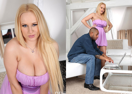 Angel Wicky - Intimate Attraction - Interracial Sexy Photo Gallery