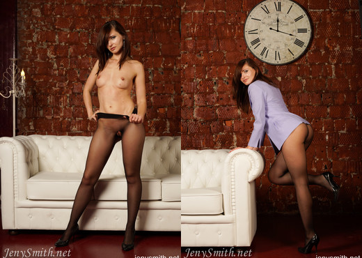 Jeny Smith pantyhose photoshoot - Solo Sexy Photo Gallery