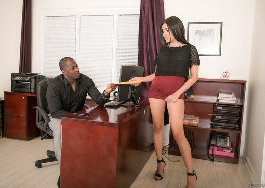 Aaliyah Hadid - Front Street Cheaters - Interracial Image Gallery