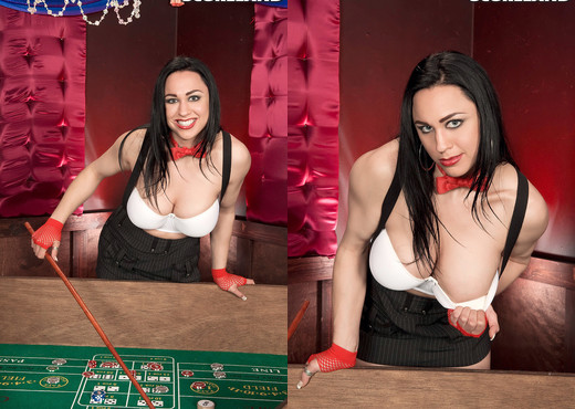 Isis Haze - Casino of Cleavage - ScoreLand - Boobs Nude Pics