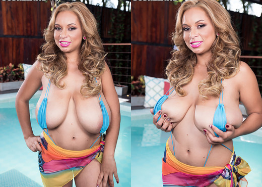 Shara Lopez - Oiled & Stacked - ScoreLand - Boobs Nude Gallery