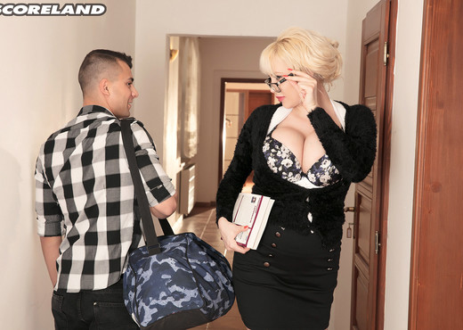 Sandra Star - Professor Sandra & Her Star Pupil - ScoreLand - Boobs Picture Gallery