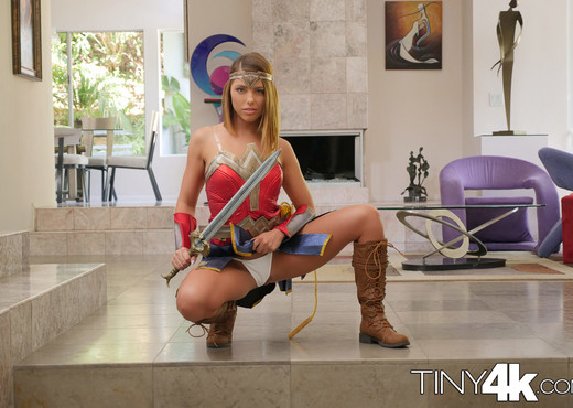 Adriana Chechik - Super Hero Goes Trick Or Treating - Hardcore Sexy Photo Gallery