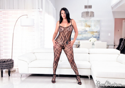 Cristal Caraballo - Passion and Lace - Pure Mature - MILF Nude Gallery
