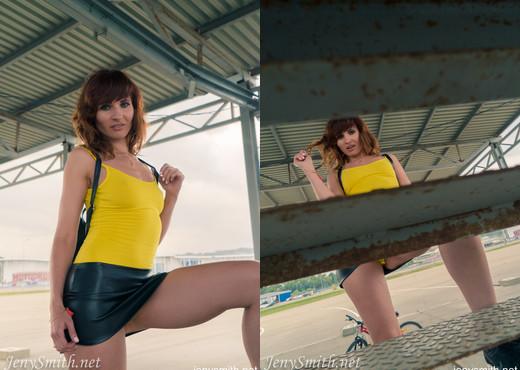 Jeny Smith bodysuit - Solo Nude Pics