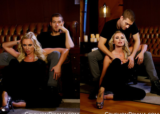 Briana Banks Is A Good Little Suck For Xander Corvus - MILF Image Gallery