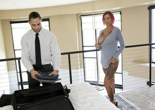 Anna Bell Peaks, Damon Dice - Before You Go - NFBusty - Hardcore HD Gallery
